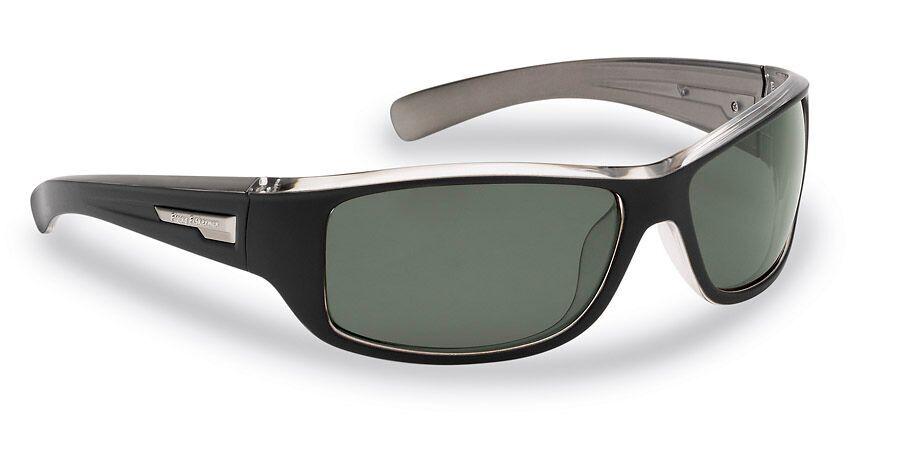 2f47ef0dd3a Flying Fisherman 7831BS-HELM BLACK-CRYSTAL GUNMETAL SMOKE Action Angler  Sunglasses